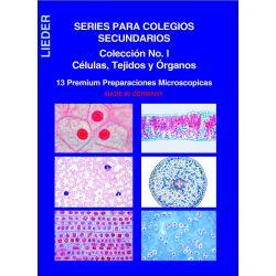 Preparaciones microscópicas L-4410 (13p). Células-Tejidos-Órganos