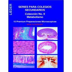 Preparaciones microscópicas L-4430 (15p). Metabolismo