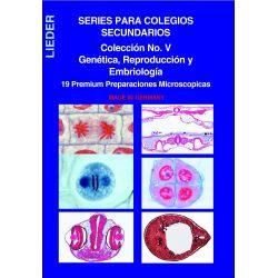 Preparaciones microscópicas L-4480 (19p). Genética-Reproducción
