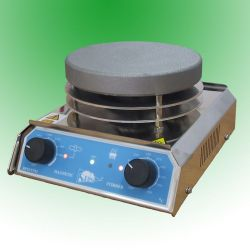 Agitador magnético con calefacción SBS ACS-160. Acero inoxidable 12 litros