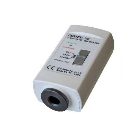 Calibrador sonòmetre classe-2 Center C-326. Nivells 94 i 114 dB