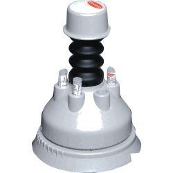 Dispensador discs antibiogrames 90 mm ST-90. Capacitat 6 tubs