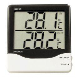 Termòmetre digital interior-exterior TFA-1011. Sensor amb cable