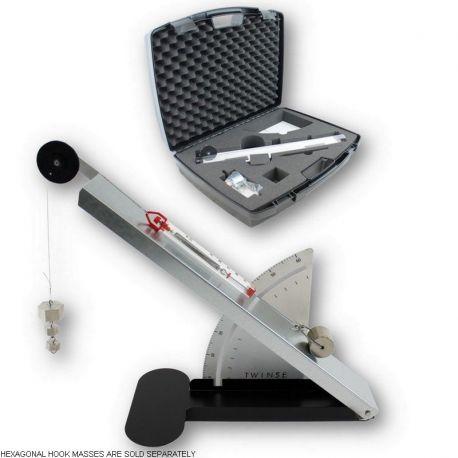 Plano inclinado carril inclinable 600x70 mm DM-234003. Maletín con accesorios