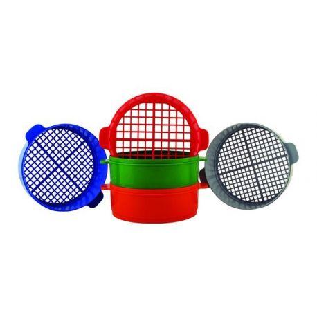Tamisos plàstic 60x200 mm PH-112014. Joc 5 malles 15-7'5 mm