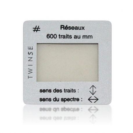 Xarxa difracció DO-115005. Diapositiva 600 estries/mm