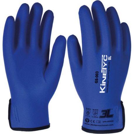 Guantes seguridad nylon-nitrilo protección mecánica y térmica 100ºC. Par