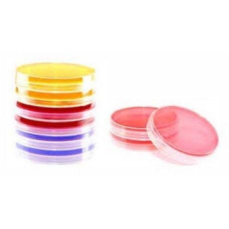 Agar cromogénico salmonela preparado L-11614. Caja 20 placas