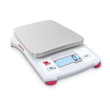Balanza elemental Ohaus CX-2200. Capacidad 2200 gramos en 1 g