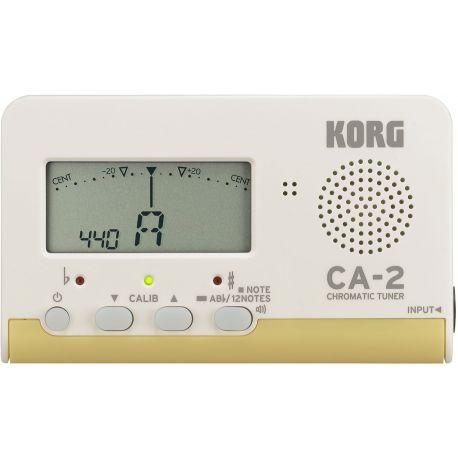 Afinador electrònic Korg CA-2. Cromàtic digital A0-C8 (La0-Do8)