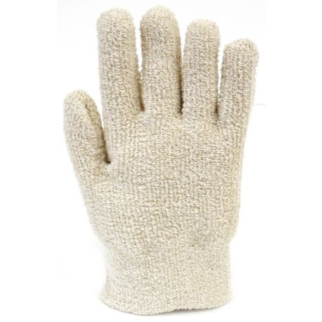 Guantes seguridad textiles protección mecánica y térmica 80ºC. Par