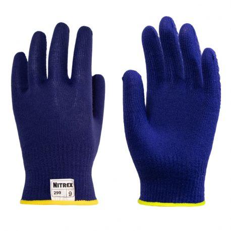 Guantes seguridad téxtiles protección al frío -10 ºC N-299. Par
