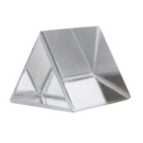 Prisma vidrio óptico PH-0554GG. Equilátero 25x25 mm