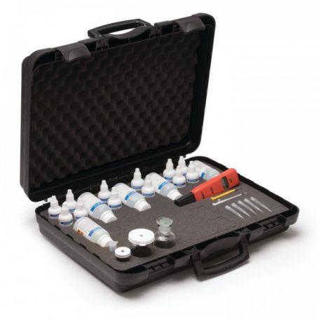 Prueba múltiple análisis agua HI-3817. Estuche 6 parámetros