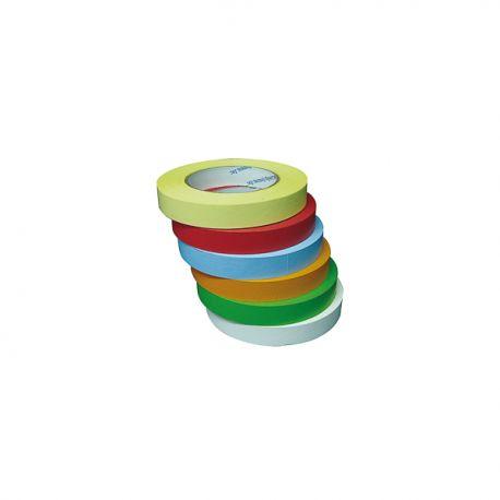 Cintas adhesivas rotulables 55mx19mm TAPE-M55. Caja 6 colores