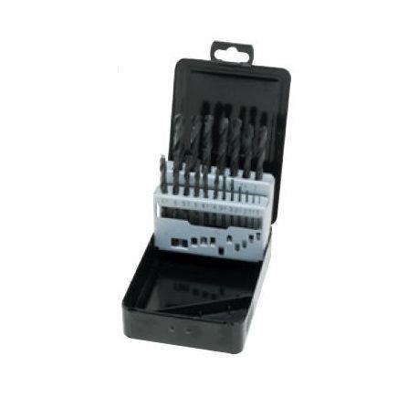 Brocas para metal de HSS 1 a 10 mm ME-8019. Juego 19 piezas
