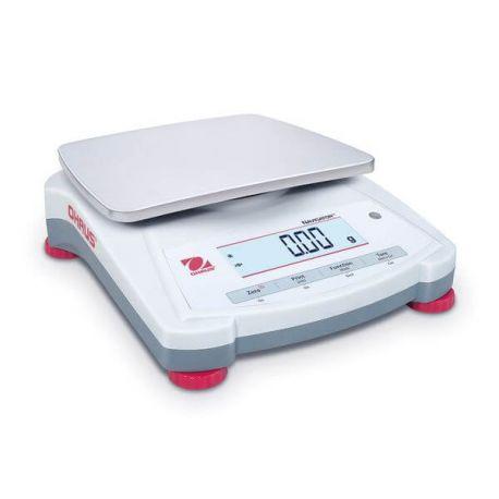 Balanza básica Navigator NV-1202. Capacidad 1200 gramos en 0'01 g