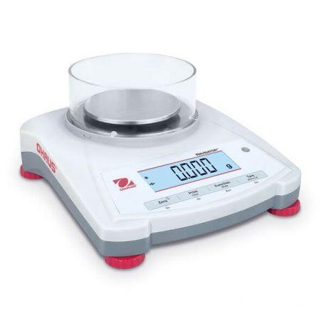 Balanza básica Navigator NV-123. Capacidad 120 gramos en 0'001 g