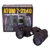 Prismáticos clásicos Atom L-67681. Prisma porro fix 7x50 mm