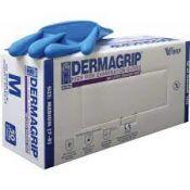 Guantes examen nitrilo estériles Dermagrip D-140X. Caja 100 unidades