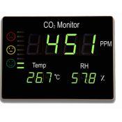 Medidor calidad aire para CO2 FTK-CHT2008. Rango 0-9999 ppm