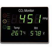 Mesurador qualitat aire CO2 FTK-CHT2008. Rang 0-9999 ppm