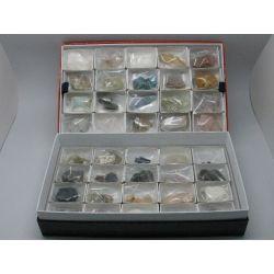 Minerals petits 30x50 mm CM-21. Capsa 40 peces