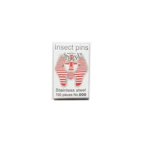 Agujas entomológicas 0.45x38 mm (2). Bolsa 100 piezas