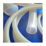 Tub silicona transparent 7x10 mm. Longitud 1000 mm