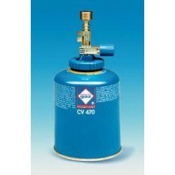 Bec gas Labogaz acoblable cartutxos amb vàlvula. Gas butà