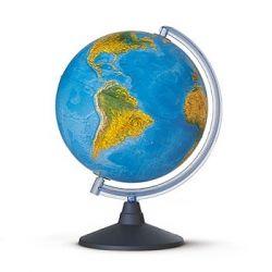 Globus terraqi fisicopolític. Esfera lluminosa 300 mm