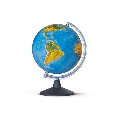 Globus terraqüi fisicopolític. Esfera lluminosa 300 mm