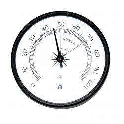 Higrómetro bimetálico Herter 3512. Carcasa plástico 100 mm