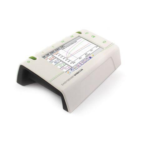 Consola adquisición datos Easysense Vision. Pantalla 4 sensores