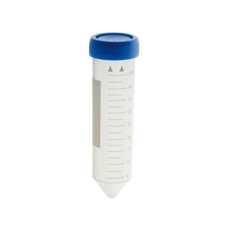 Tubs centrifugadora plàstic PP 50 ml estèrils. Bossa 50 unitats