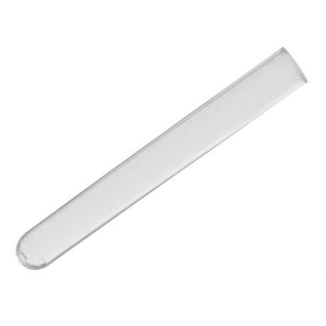 Tubos ensayo plástico PS 13x100 mm (8 ml) TUPS-130. Caja 500 unidades