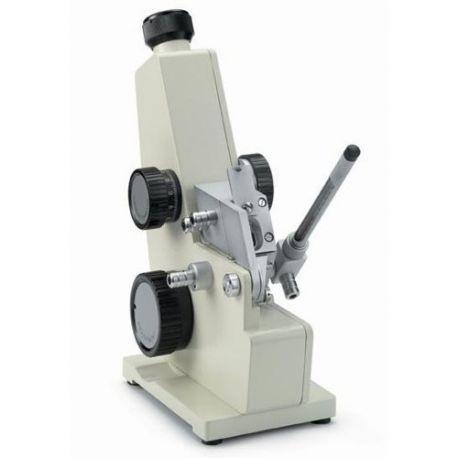 Refractómetro Abbe óptico Novex 98.490. Iluminación luz natural