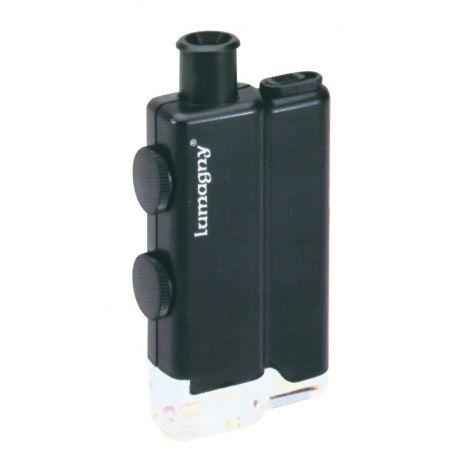 Lupa microscòpica amb led Lumagny 9390. Augments zoom 60x-100x