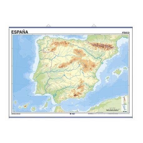 Mapa mural mut retolable 1400x1000 mm. Península ibèrica