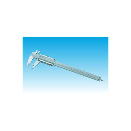 Pie de rey mecánico acero cromado DH-200. Capacidad 150 mm en 0'02 mm
