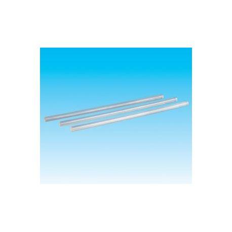 Adhesivo termofusible transparente 11x300 mm. Paquete 33 barras