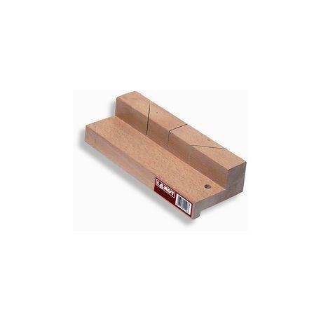 Escuadra madera una pared con guía. Medidas 250x60 mm