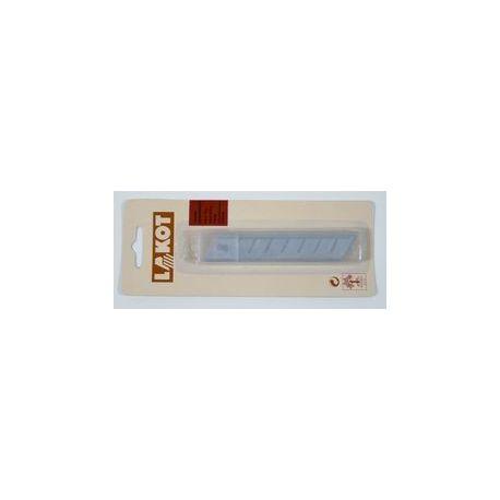 Hojas recambio cutters anchos 18 mm. Paquete 10 piezas