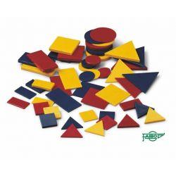 Bloques lógicos plástico 33-56 mm. Bolsa 48 piezas