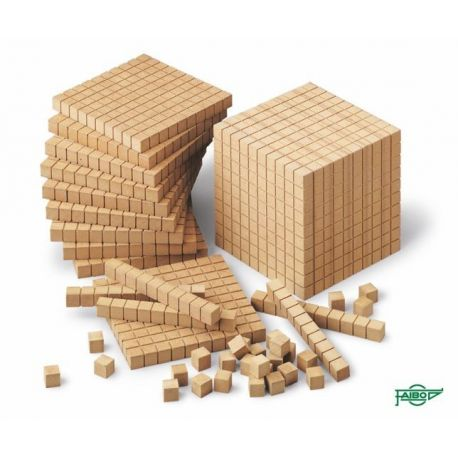 Bloc multibase fusta miler. Mides 100x100x100 mm