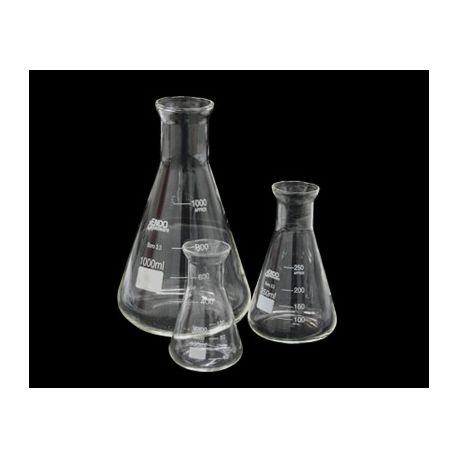 Matraz Erlenmeyer vidrio Endo. Capacidad 50 ml