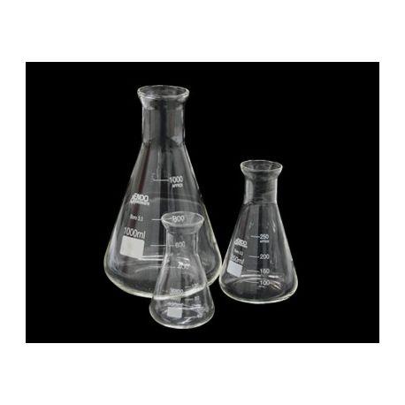 Matraz Erlenmeyer vidrio Endo. Capacidad 1000 ml