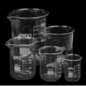 Vasos precipitados vidrio Endo 600 ml. Caja 8 unidades