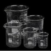 Vasos precipitats vidre Endo 600 ml. Capsa 8 unitats
