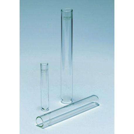 Tubos ensayo vidrio borosilicato Pyrex 24x200 mm. Caja 50